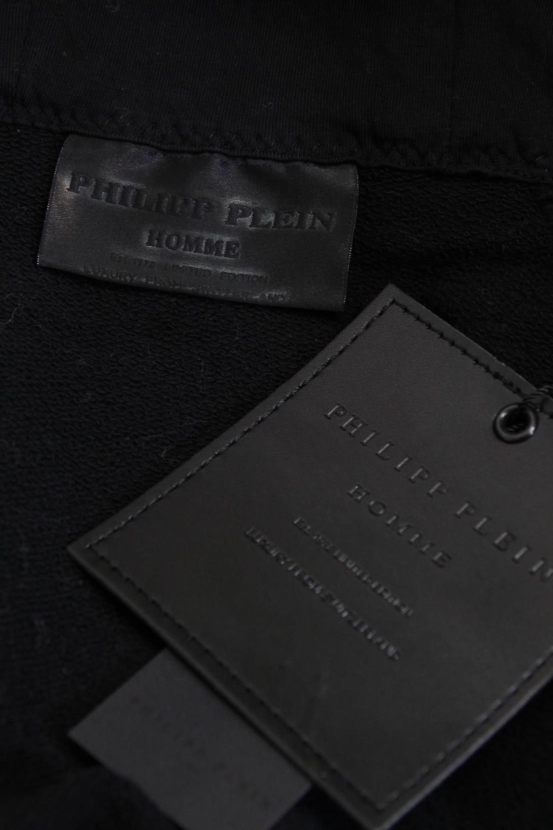 Pullover in Schwarz aus Baumwolle Philipp Plein