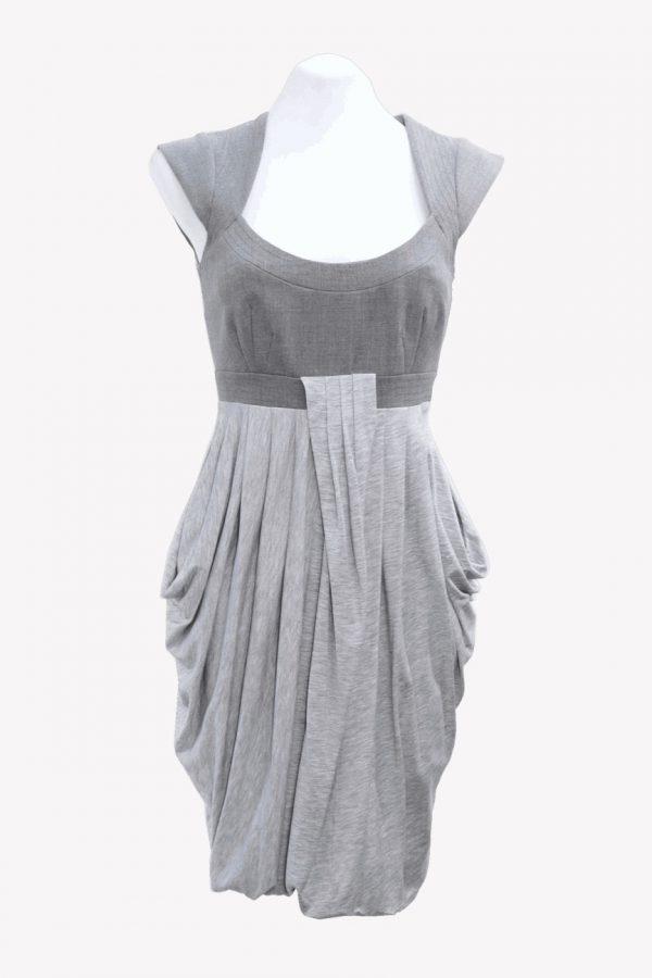 Karen Millen Kleid in Grau aus Polyester Alle Jahreszeiten.1