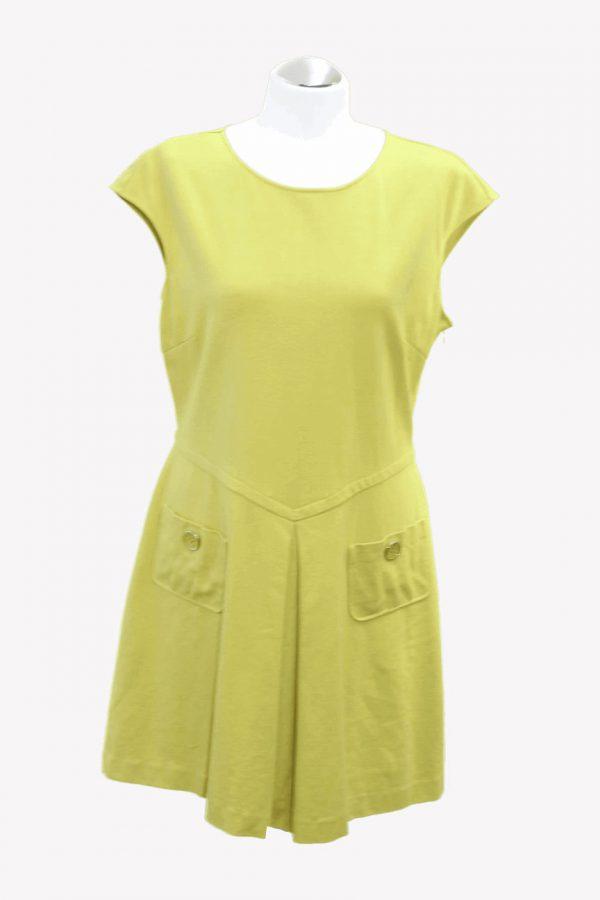 Ted Baker Kleid in Grün aus Viskose Alle Jahreszeiten.1