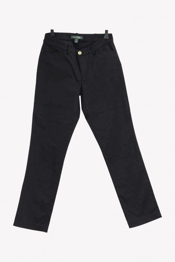 Ralph Lauren Hose in Schwarz aus Baumwolle Alle Jahreszeiten.1