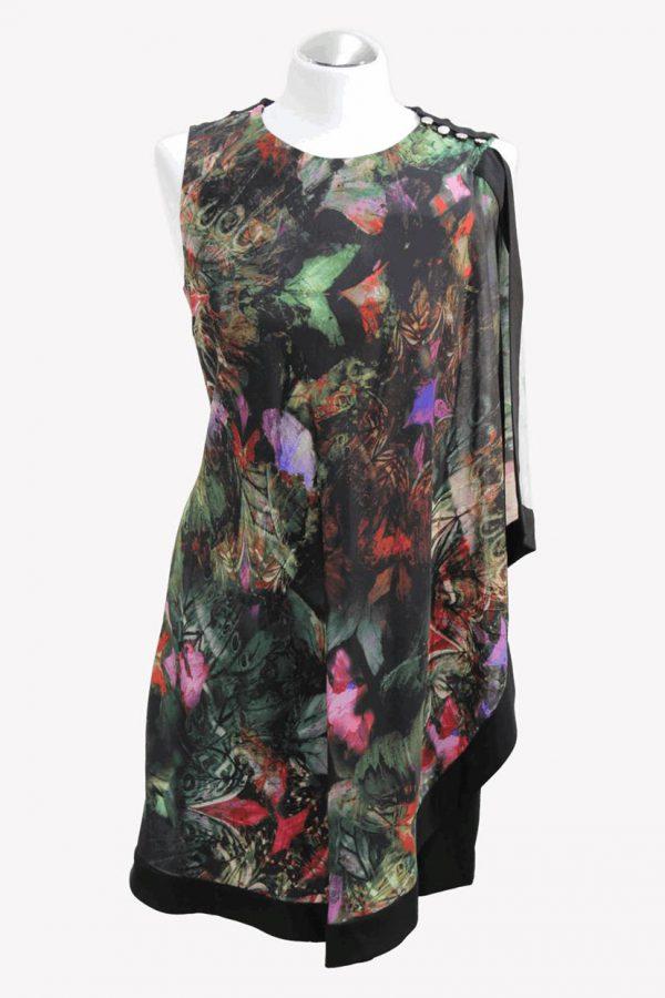 Ted Baker Kleid mit Muster aus Viskose Alle Jahreszeiten.1
