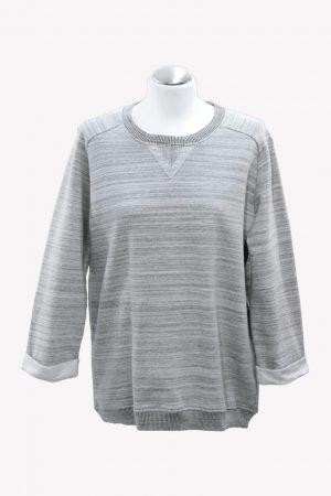 Whistles Sweatshirt in Grau aus Baumwolle Alle Jahreszeiten.1