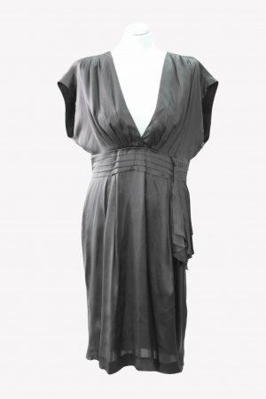 Whistles Seidenkleid in Grau aus Seide Alle Jahreszeiten.1