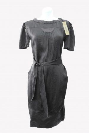 DKNY Seidenkleid in Braun aus Seide Alle Jahreszeiten.1