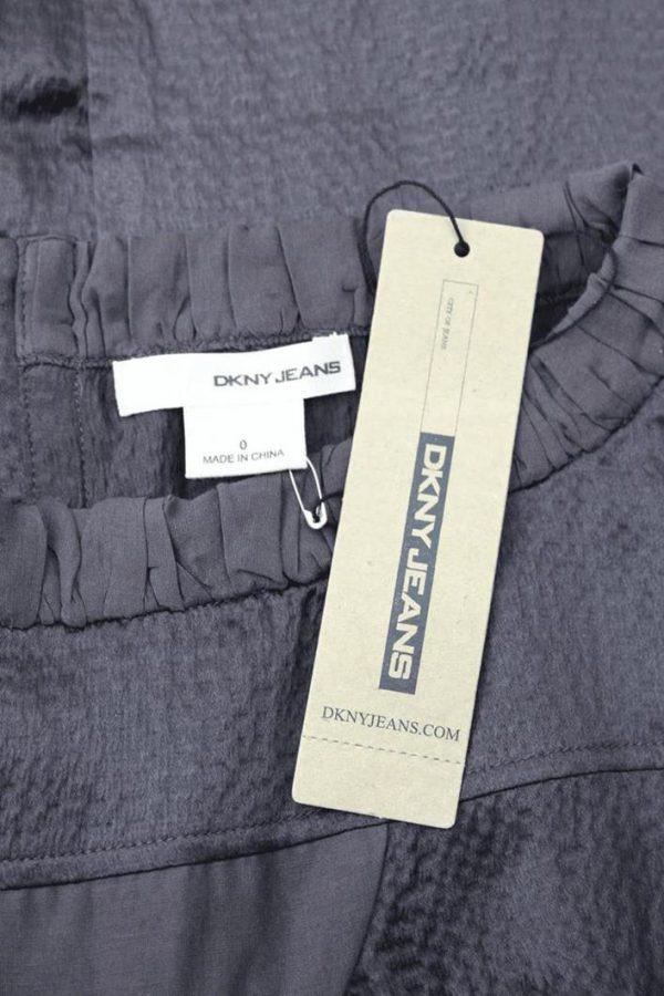 Seidenkleid in Braun DKNY