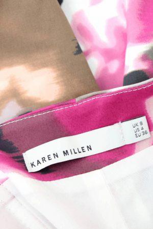 Kleid mit Muster Karen Millen