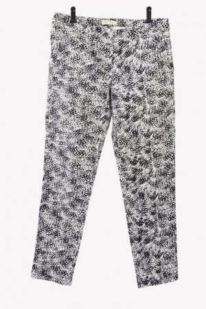 Reiss Hose in Schwarz-Weiß aus Baumwolle Alle Jahreszeiten.1