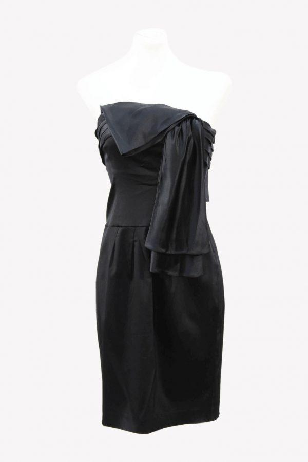 Ted Baker Kleid in Schwarz aus Acetat Alle Jahreszeiten.1