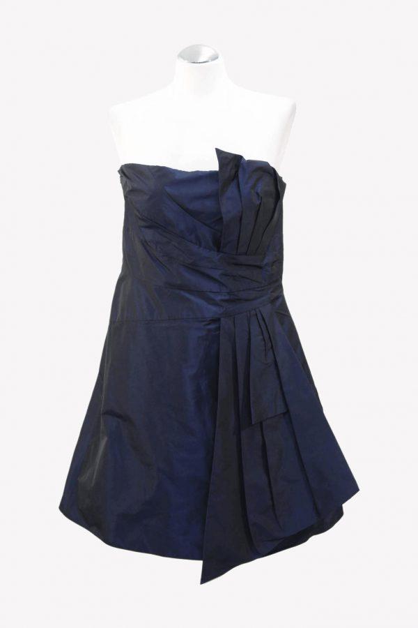 Karen Millen Kleid in Dunkelblau aus Polyester Alle Jahreszeiten.1