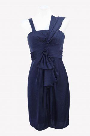 BCBG Max Azria Kleid in Dunkelblau aus Polyester Alle Jahreszeiten.1