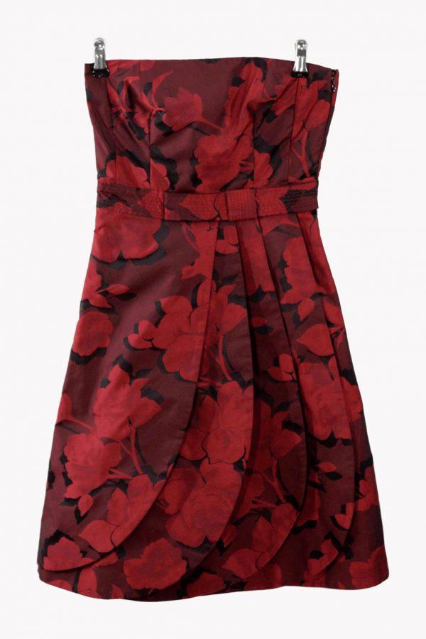 Karen Millen Skaterkleid in Multicolor aus Polyester Alle Jahreszeiten.1