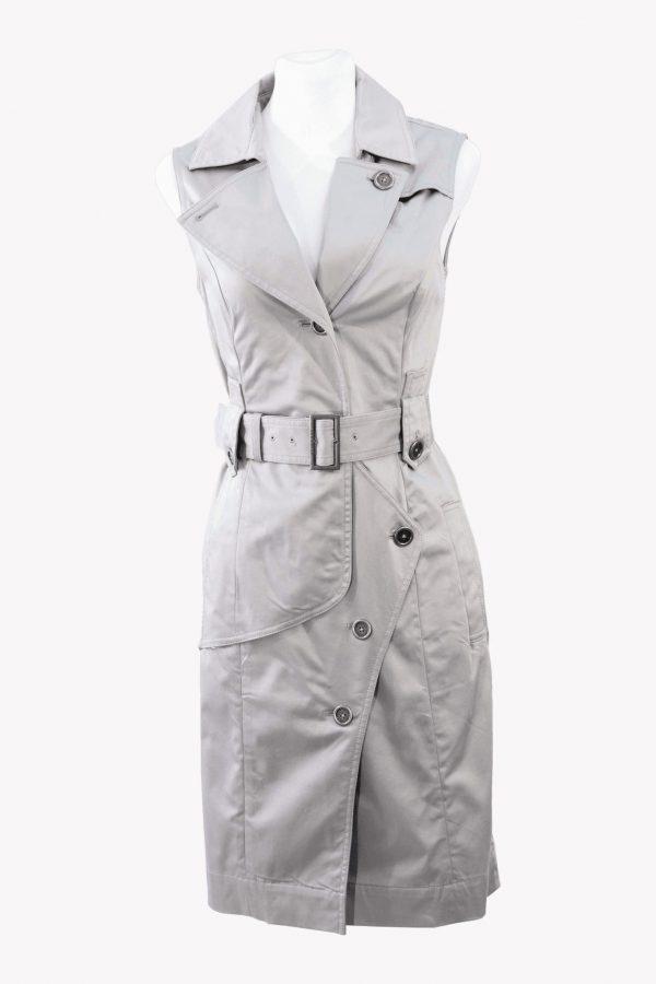 Ted Baker Shiftkleid in Grau aus Baumwolle aus Baumwolle Alle Jahreszeiten.1