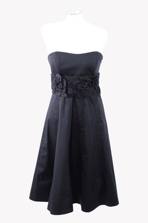 Karen Millen Skaterkleid in Schwarz aus Baumwolle aus Baumwolle Alle Jahreszeiten.1