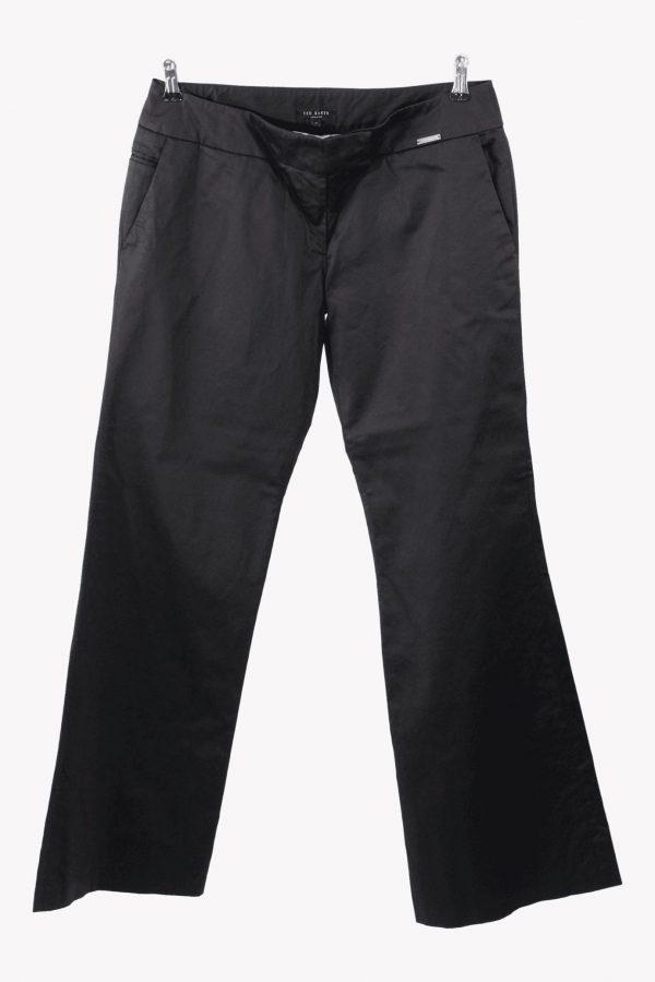 Ted Baker Stoffhose in Schwarz aus Baumwolle aus Baumwolle Alle Jahreszeiten.1