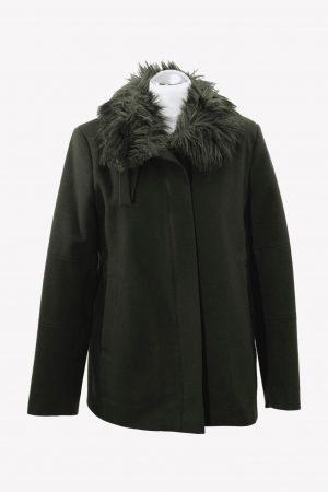 French Connection Trenchcoat in Grün aus Wolle aus Wolle Alle Jahreszeiten.1