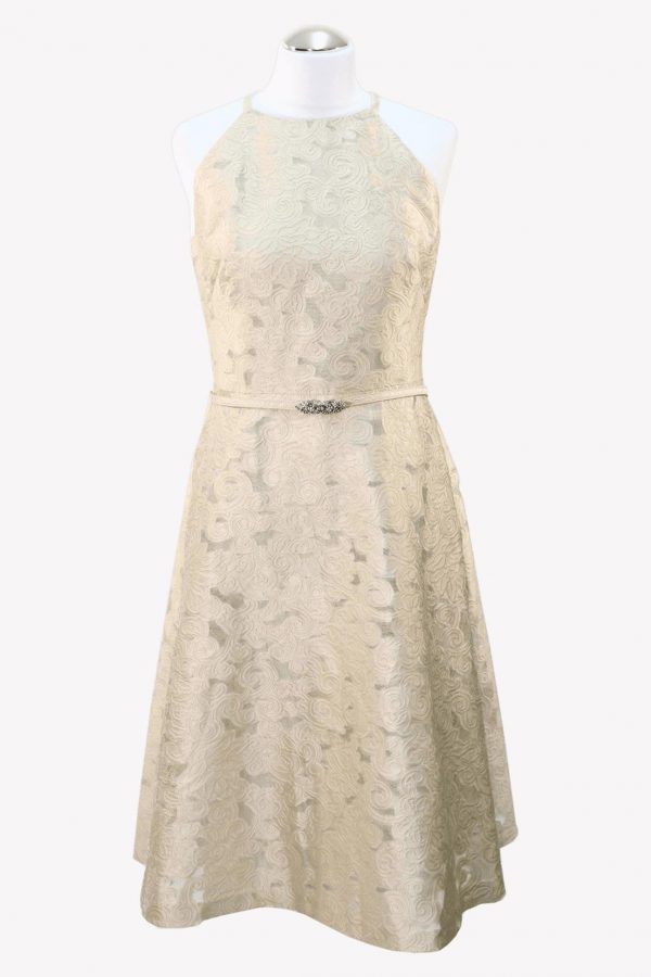 Ralph Lauren Shiftkleid in Beige aus Polyester Alle Jahreszeiten.1
