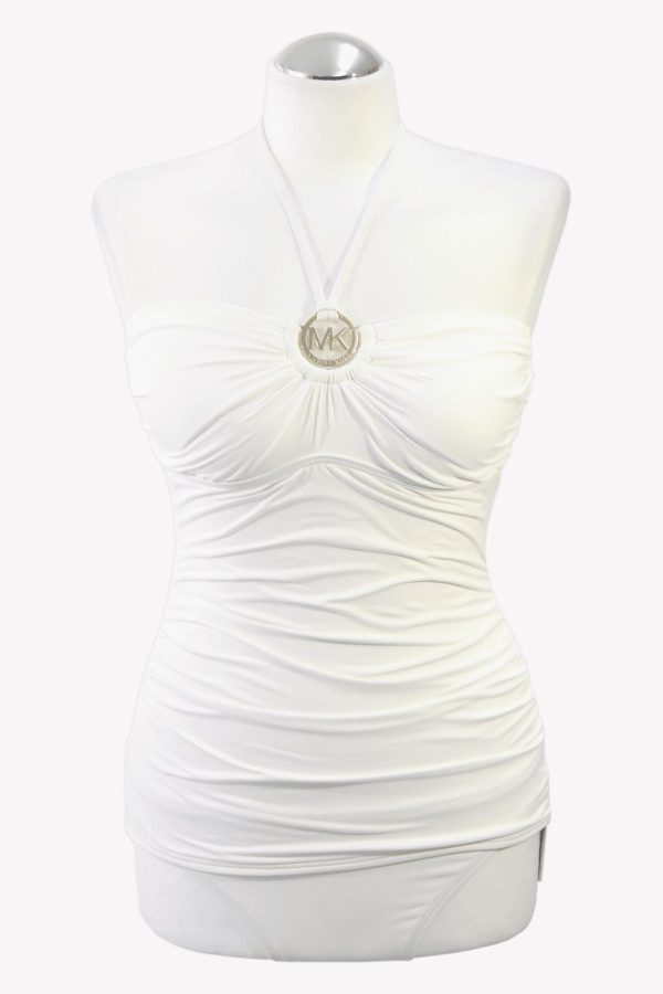 Michael Kors Tankini-Set in Weiß.1