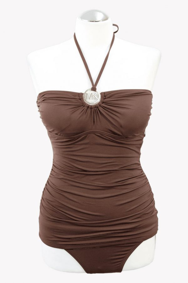Michael Kors Tankini-Set in Braun.1