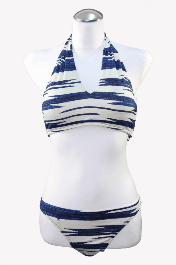 Ralph Lauren Bikini in Blau.1