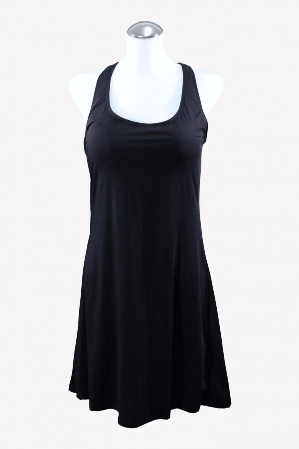 Michael Kors Badekleid in Schwarz.1