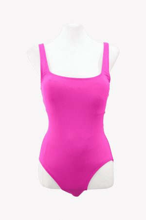 Michael Kors Badeanzug in Neon-Pink.1