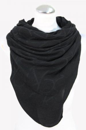 Calvin Klein Schal in Schwarz aus Modal .1