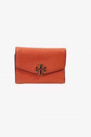 Tory Burch Portemonnaie in Orange aus Leder .1
