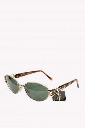 Carolina Herrera Sonnenbrillen in Braun aus Metall .1
