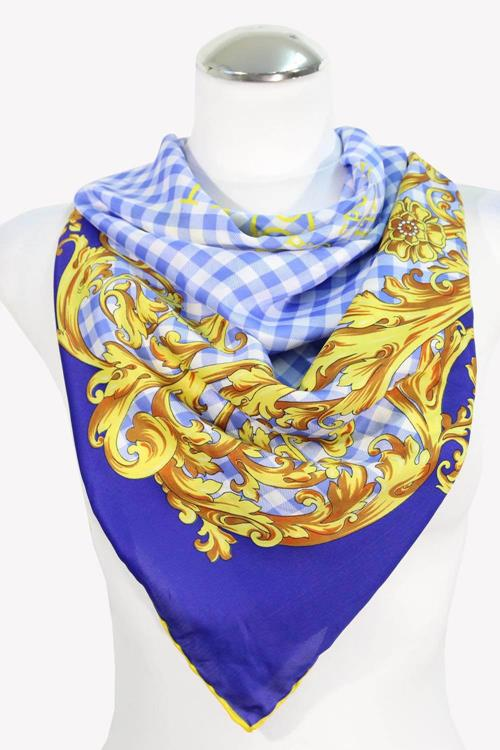 Versace Schal in Multicolor aus Polyester .1