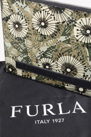 Clutch in Multicolor aus Leder Furla