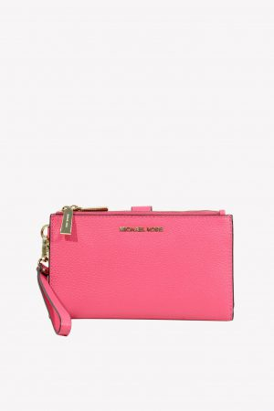 Michael Kors Clutch in Rosa aus Leder.1