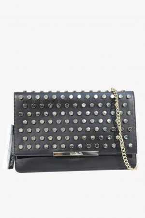 Max & Co Clutch in Schwarz aus Leder.1
