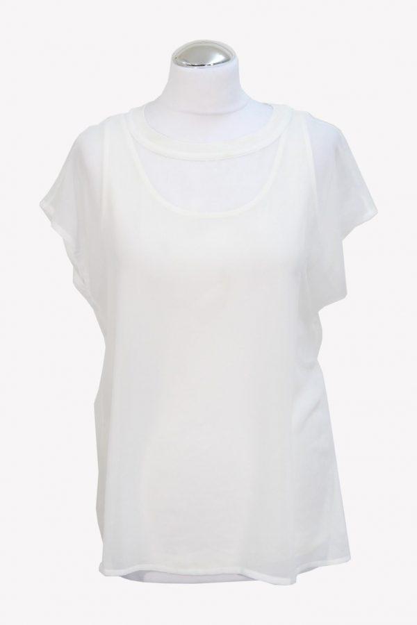 Hugo Boss Top in Weiß aus Polyester Alle Jahreszeiten.1