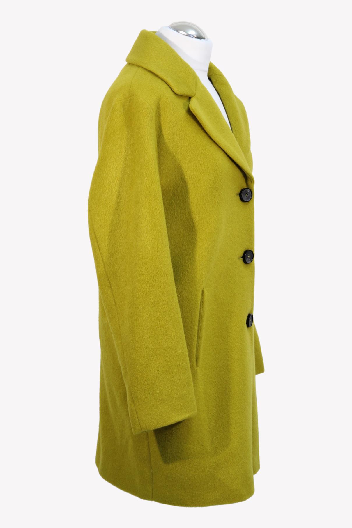 Mantel in Gelb aus Wolle Fuchs Schmitt