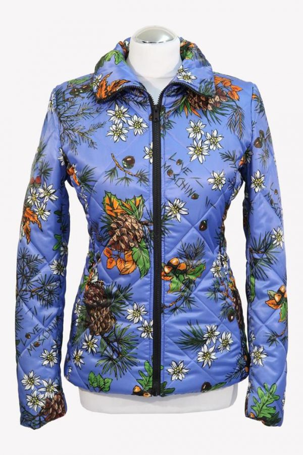 Love Moschino Steppjacke in Multicolor aus Polyester Herbst / Winter.1