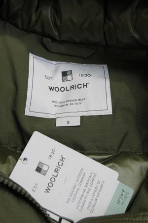 Parka in Grün aus Baumwolle Woolrich
