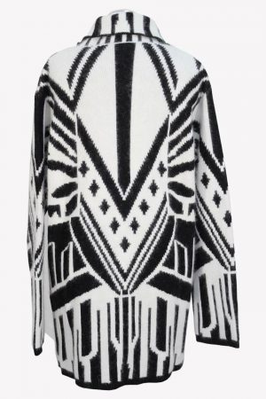 Pullover in Schwarz / Weiß Just Cavalli