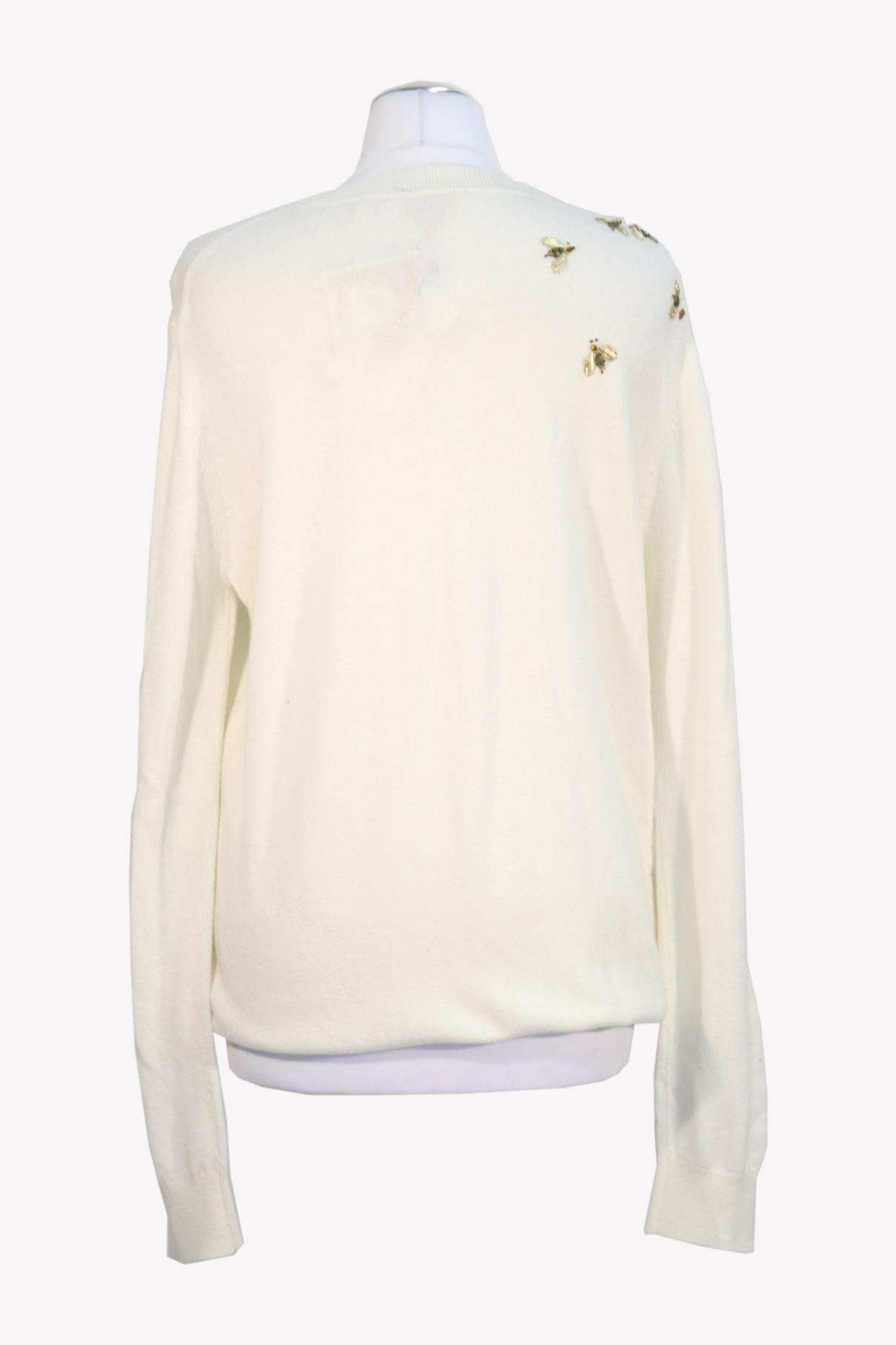 Pullover in Creme aus Wolle Ted Baker