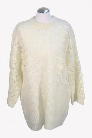 Iro Pullover in Creme aus Nylon Herbst / Winter.1