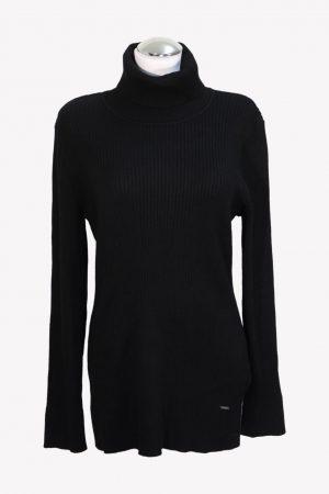DKNY Pullover in Schwarz aus Viskose Herbst / Winter.1
