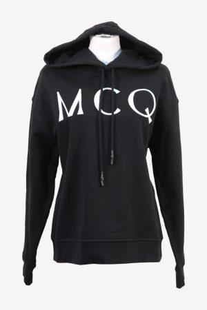 McQ Alexander McQueen Pullover in Schwarz aus Baumwolle aus Baumwolle Alle Jahreszeiten.1