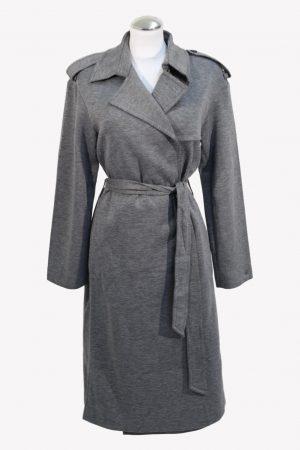 Tommy Hilfiger Mantel in Grau aus Polyester Alle Jahreszeiten.1