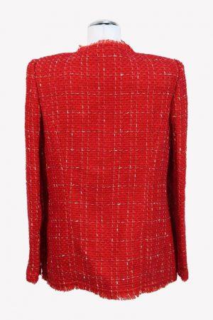 Blazer in Rot aus Wolle Iro