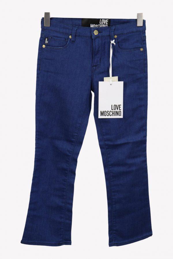 Love Moschino Jeans in Blau aus Baumwolle aus Baumwolle Alle Jahreszeiten.1