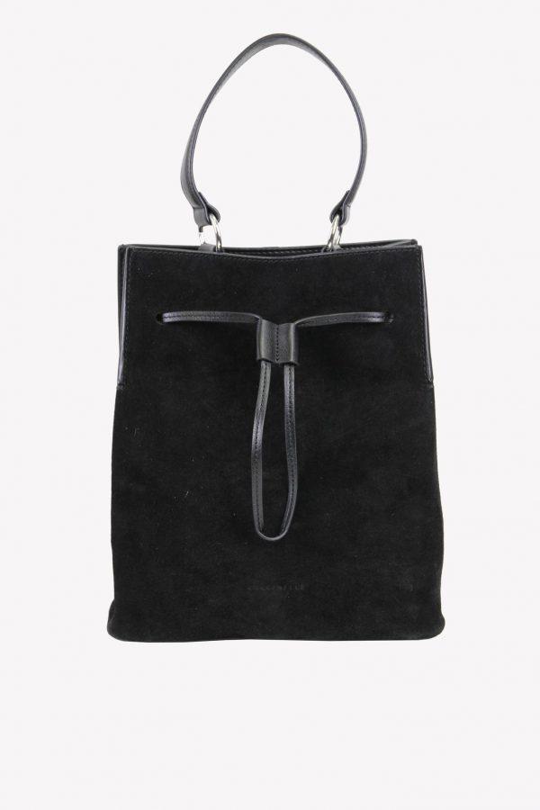 Coccinelle Umhängetasche in Schwarz aus Leder.1