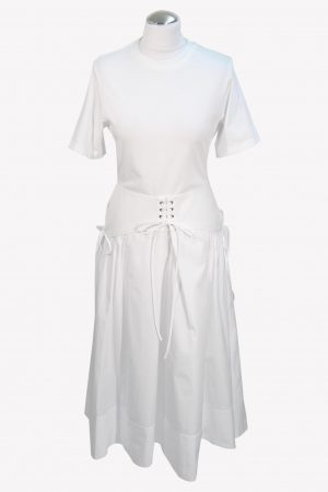3.1 Phillip Lim Maxikleid in Weiß aus Baumwolle aus Baumwolle Alle Jahreszeiten.1