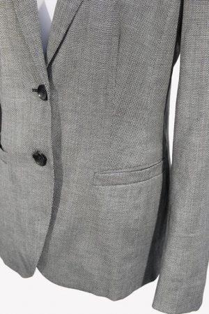 Blazer in Grau aus Wolle Escada
