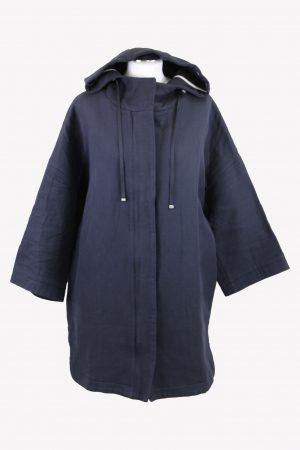 Stefanel Parka in Blau aus Baumwolle aus Baumwolle Alle Jahreszeiten.1