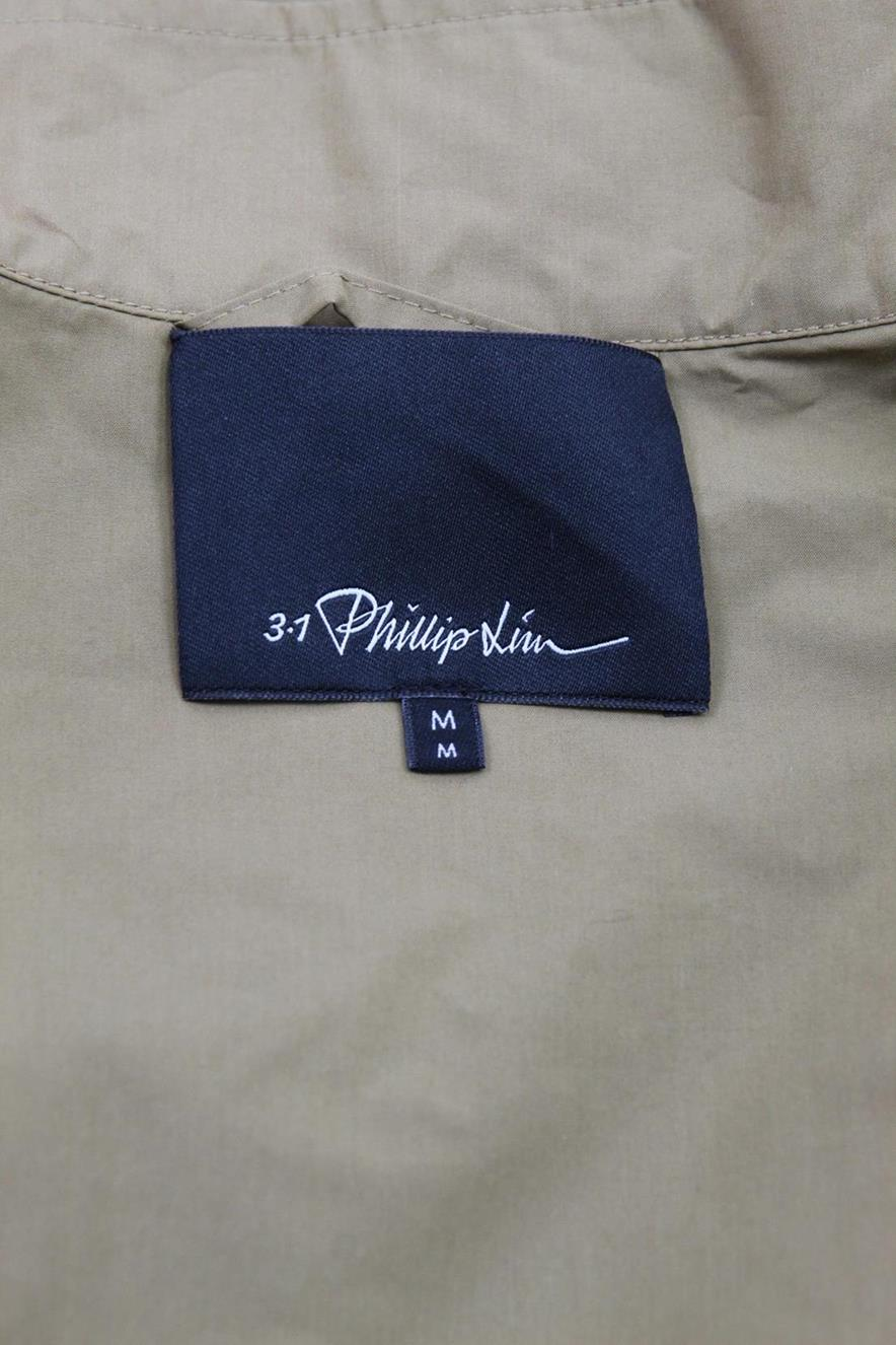 Bomberjacke in Beige aus Baumwolle 3.1 Phillip Lim