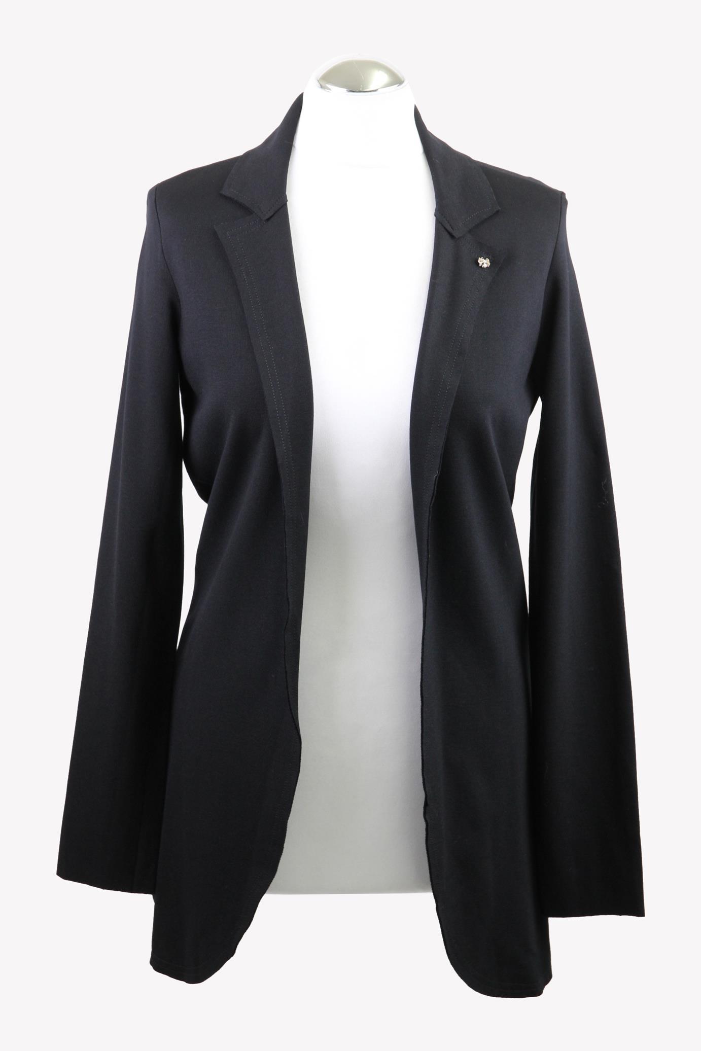 Rich & Royal Pullover in Schwarz aus Viskose Alle Jahreszeiten.1
